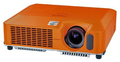 Orange Data Projector