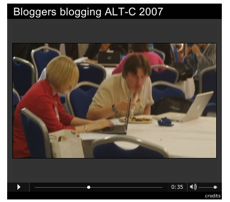 Blogging and eating