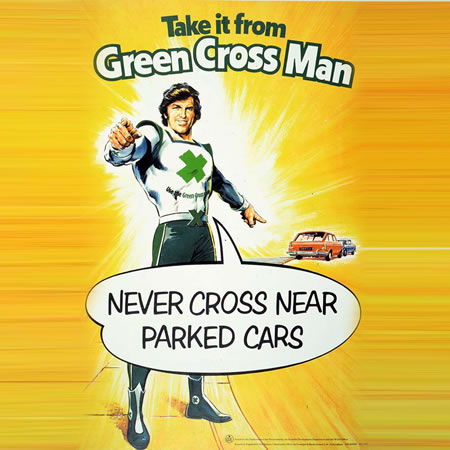 Green Cross Code Man