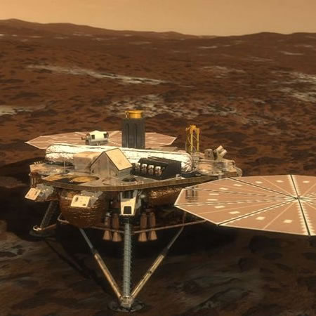 Twitter has landed (on Mars)