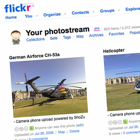 So you want to know about Flickr...