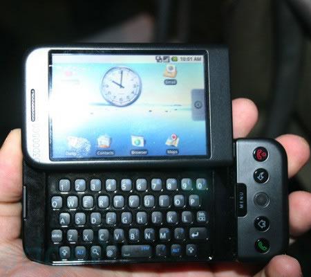 Google unveils phone