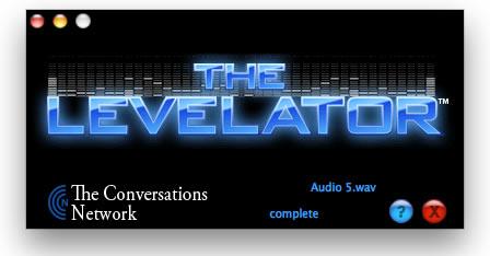 Levelling with Levelator
