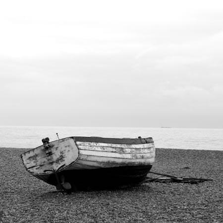 Fishing Boats and Seagulls