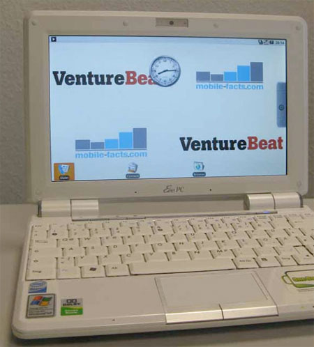 Google Android on the Asus EeePC