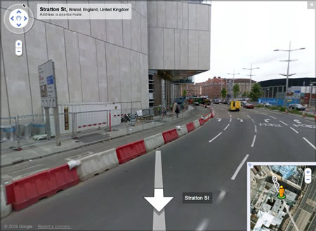 Google Street View now in the UK